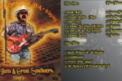 DB&GS - 8/23/03 - JAXX - W. Springfield, VA - Front & Inside - Disc 1 of 3