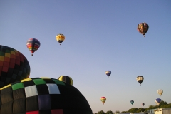 Balloon Festival Mass Ascension