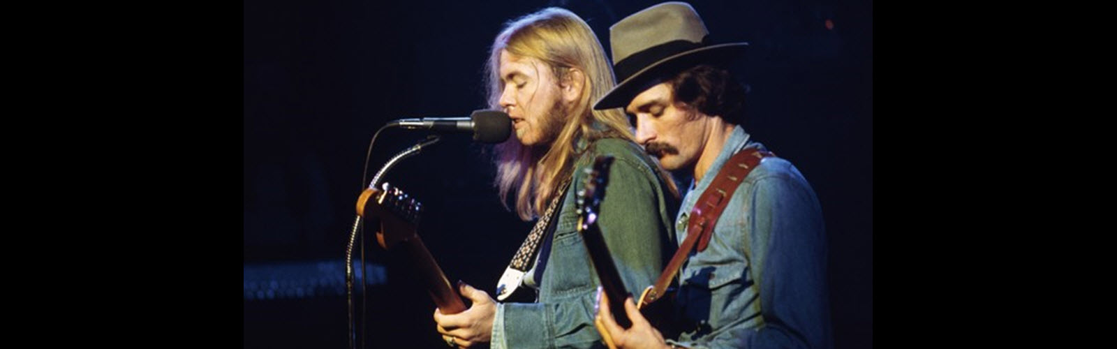 Gregg Allman and Dickey Betts