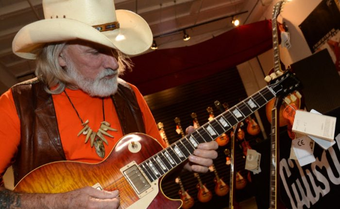 Dickey Betts at Gibson